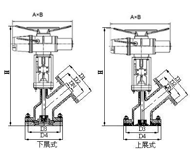 电动放料阀结构图